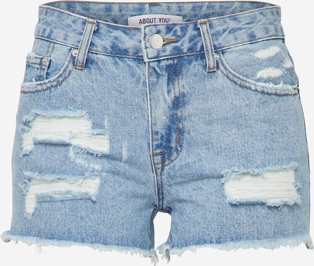 ABOUT YOU Short 'Nova' in blue denim, Produktansicht