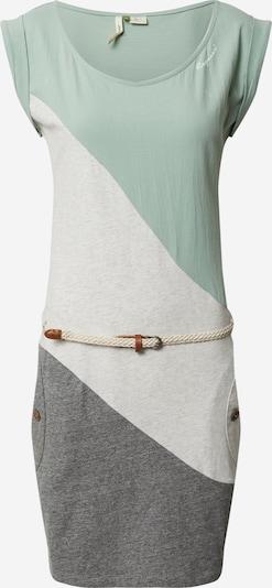 Ragwear Vasaras kleita pelēks / piparmētru / balts, Preces skats