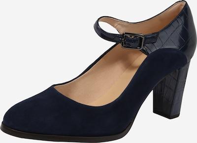 CLARKS Escarpins à bride arrière 'Kaylin Alba' en bleu marine, Vue avec produit