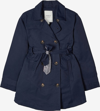NAME IT Trenchcoat in navy, Produktansicht