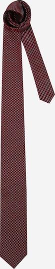HUGO Cravate en lie de vin / blanc, Vue avec produit