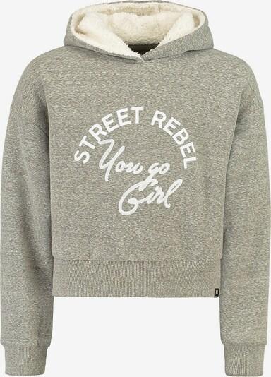 GARCIA Sweatshirt in grau / weiß, Produktansicht