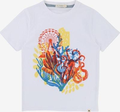 Billybandit T-Shirt in blau / gelb / rot / weiß, Produktansicht