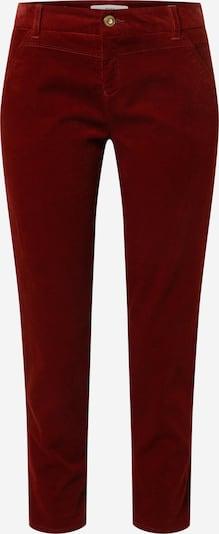 BRAX Pantalon chino 'Mel' en rouge foncé, Vue avec produit