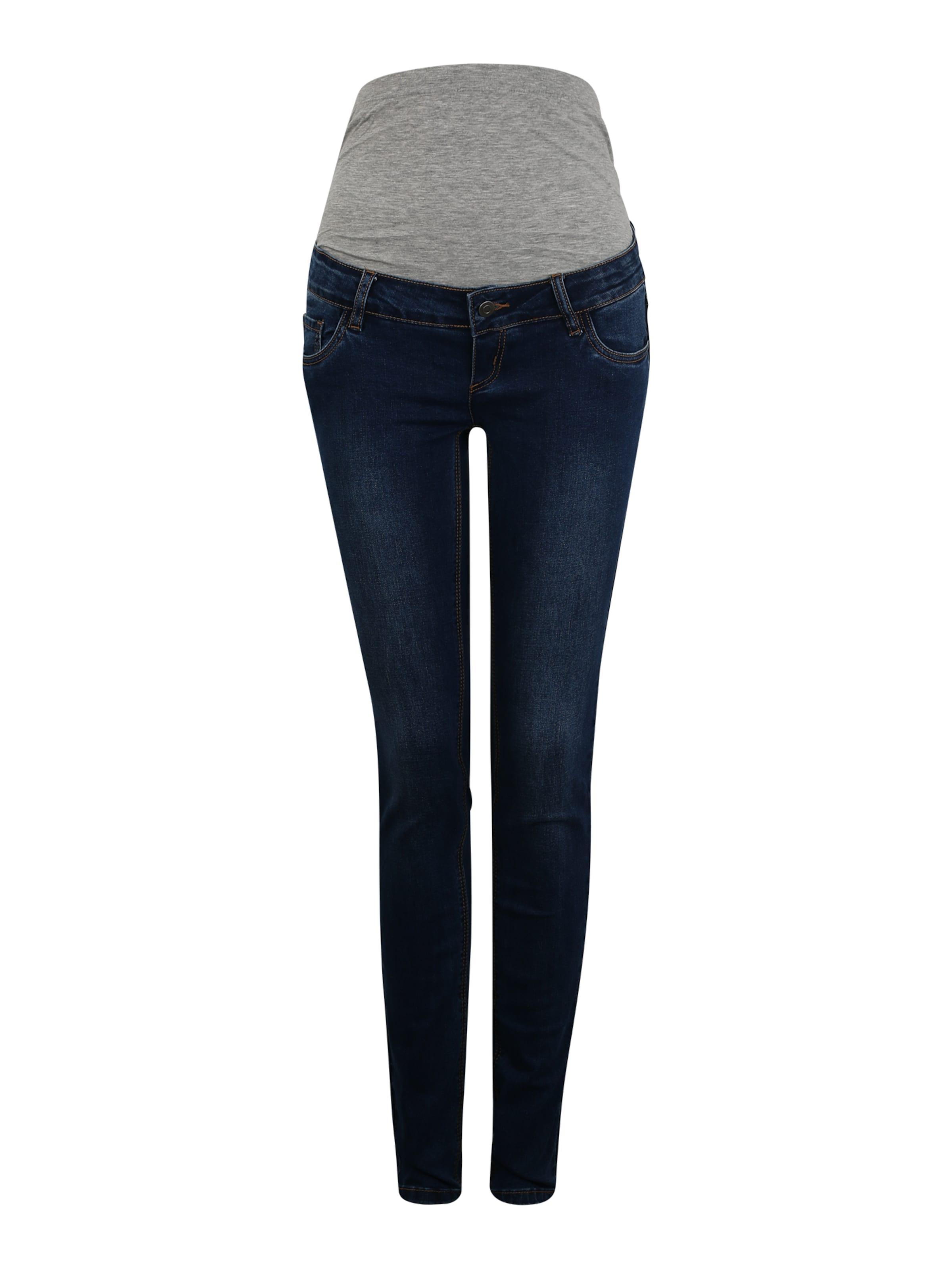 Mamalicious 'mllola' Blauw In Jeans Denim TJcK1lF