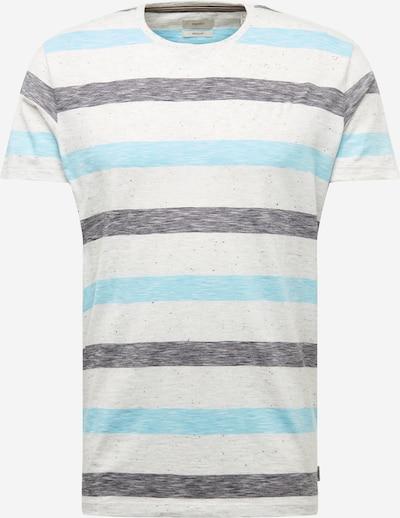 ESPRIT Shirt in navy / grau / weiß, Produktansicht