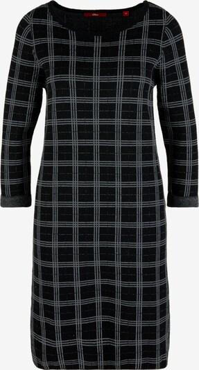 s.Oliver Kleid in grau / schwarz, Produktansicht