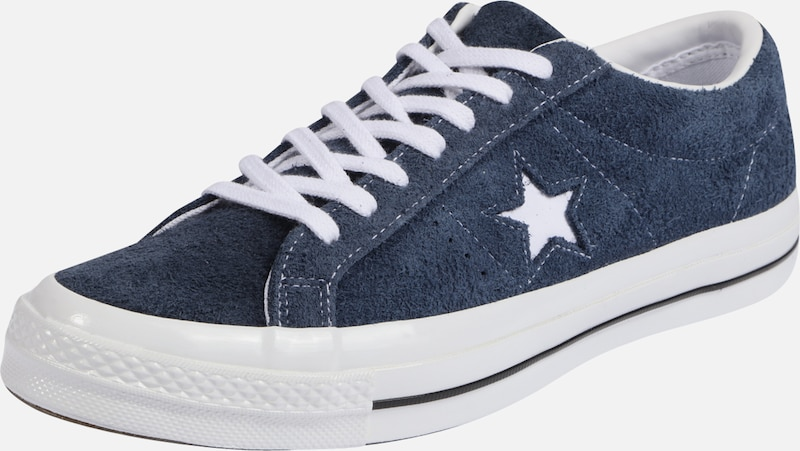 Star Basses Baskets Ox' En NuitBlanc Bleu Converse 'one uKcF5l3T1J