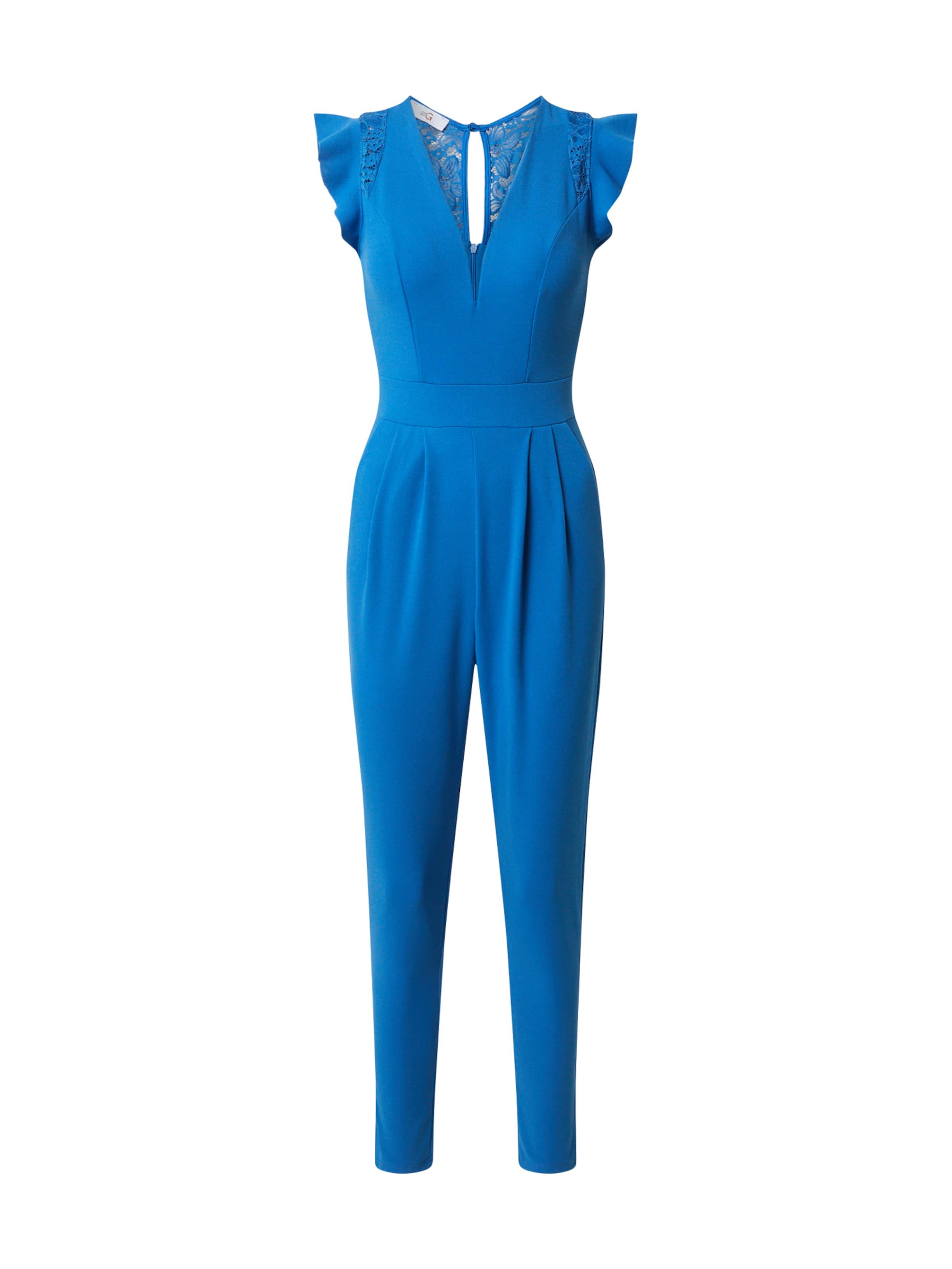WAL G. Kezeslábas kék színben