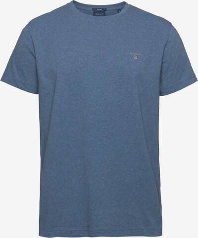 GANT T-Shirt in blaumeliert, Produktansicht