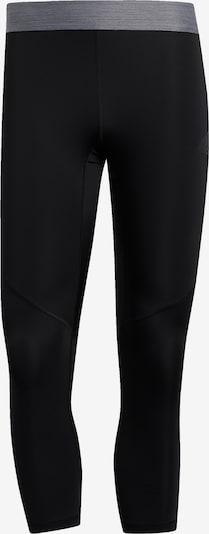 ADIDAS PERFORMANCE Sportbroek in de kleur Zilvergrijs / Zwart, Productweergave