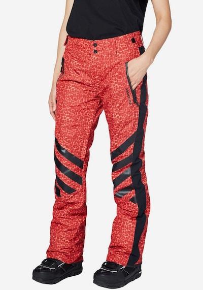 CHIEMSEE Sportnadrágok piros fekete színben | ABOUT YOU