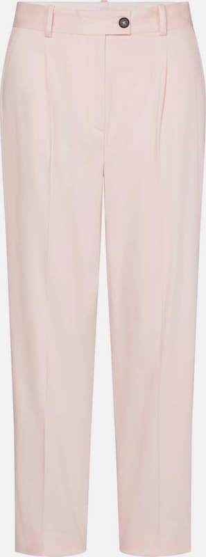 TOMMY HILFIGER 7/8-Hose »COTTON PASTEL TAPERED PANT« in rosé, Produktansicht