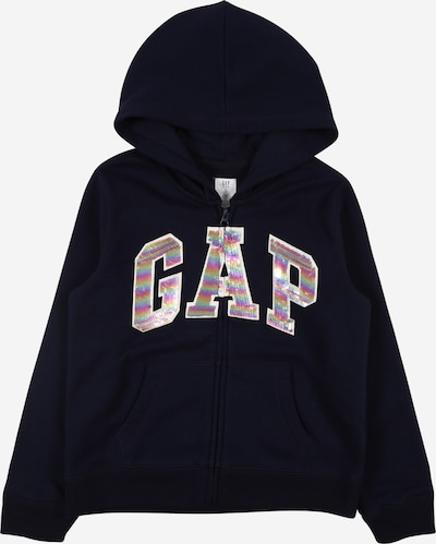 GAP Sweatjacke 'FLIPPY' in navy / mischfarben, Produktansicht