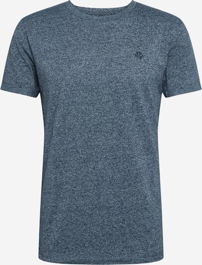 TOM TAILOR DENIM T-Shirt in blaumeliert, Produktansicht