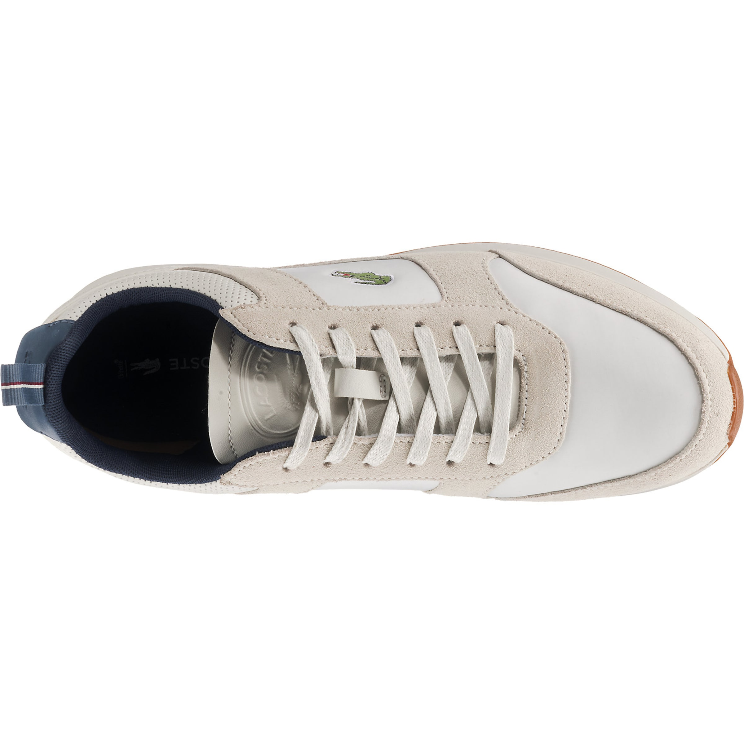 LACOSTE LACOSTE LACOSTE Turnschuhe Low 'JOGGEUR 418 Leder, sonstiges Material Lässig wild b8847f