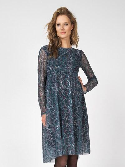 Supermom Kleid ' Snake ' in grün, Modelansicht