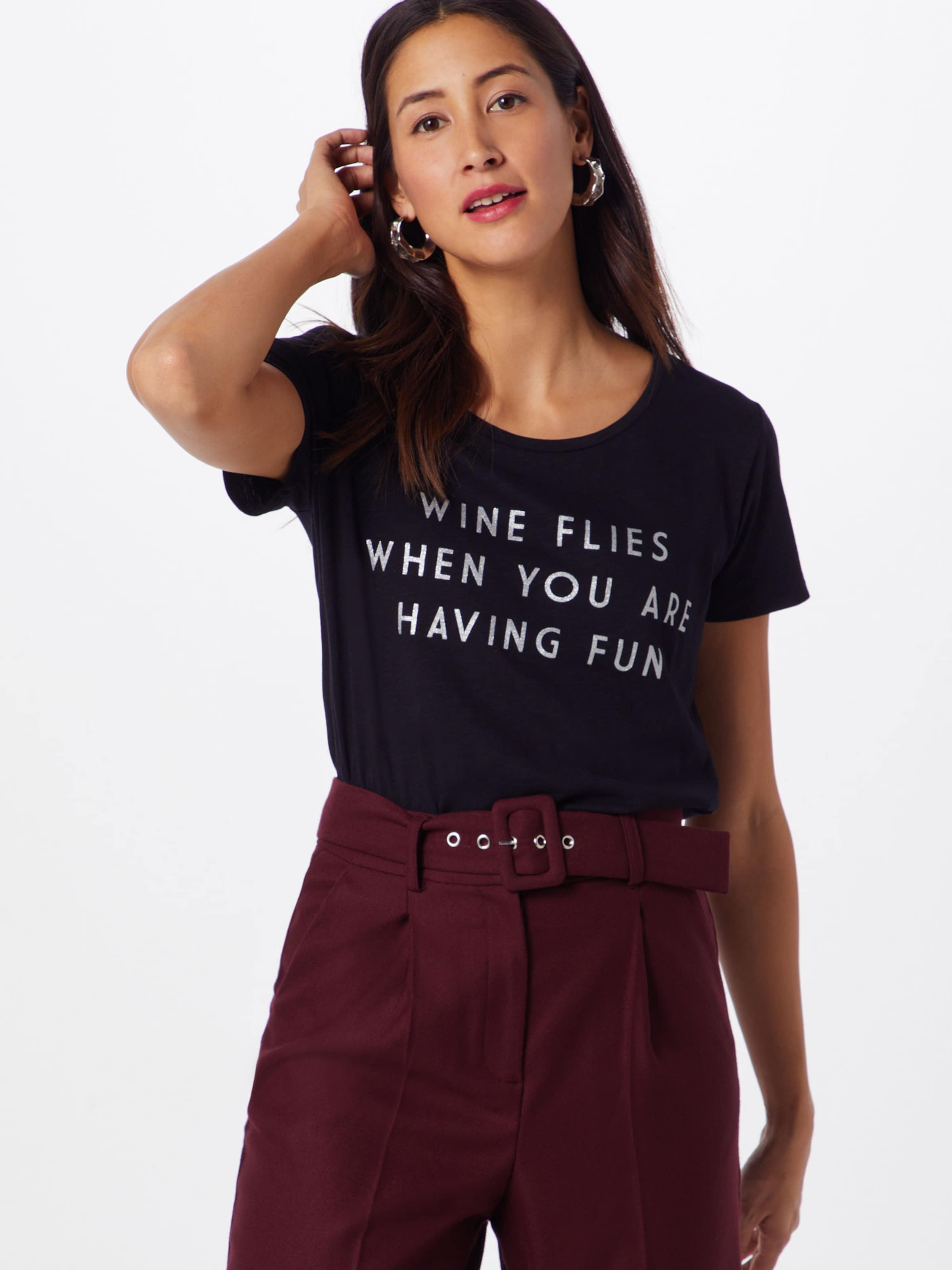 In Catwalk Wine Flies' Schwarz Shirt Junkie 'ts XTOiPkZu