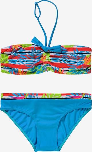 FASHY Bikini in blau / grün / rot / weiß, Produktansicht