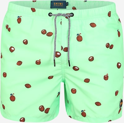 Shiwi Boardshorts in de kleur Groen, Productweergave