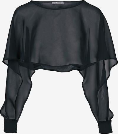 heine Poncho in schwarz, Produktansicht