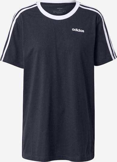 Tricou funcțional ADIDAS PERFORMANCE pe albastru închis / alb, Vizualizare produs