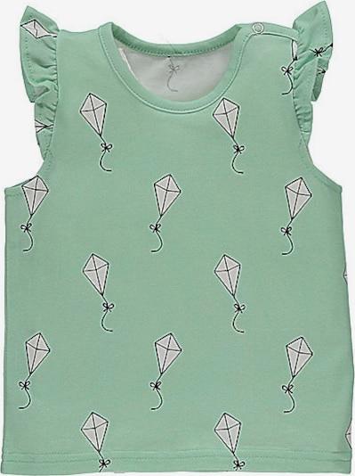 lamino T-Shirt in jade / weiß, Produktansicht