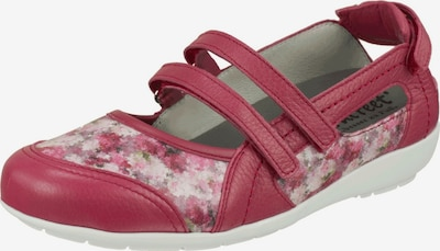 Natural Feet Ballet Flats with Strap 'Julie' in Mixed colors / Red, Item view