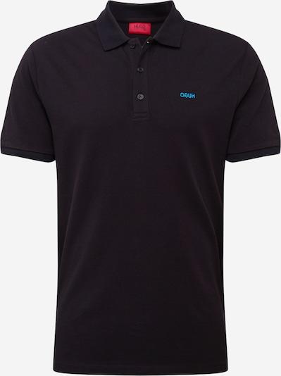 HUGO Poloshirt 'Donos203' in aqua / schwarz, Produktansicht