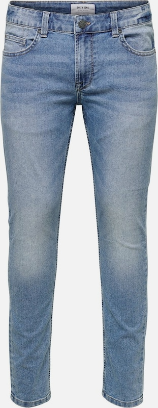 Only & Sons Jeans in blau, Produktansicht