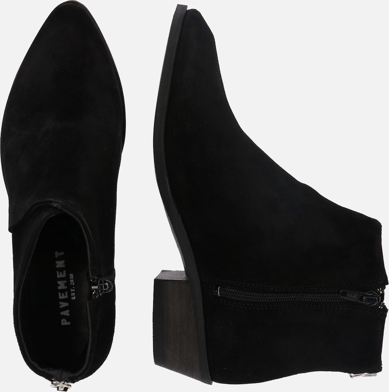 En Bottines Bottines 'sara' Noir 'sara' Pavement Pavement En QhCsdxtrB