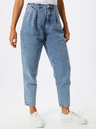 Tommy Jeans Voltidega teksapüksid helesinine, Modellivaade