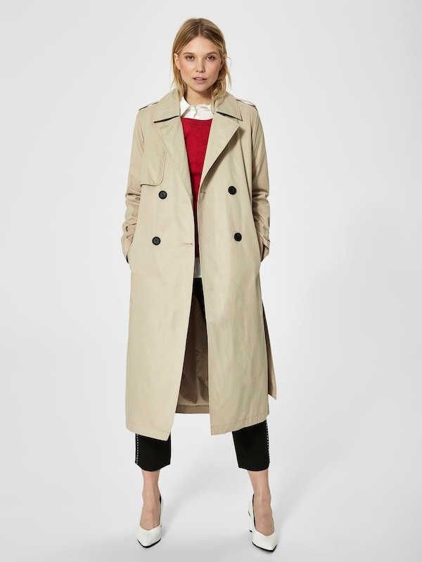 SELECTED FEMME Klassischer Trenchcoat