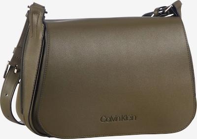 Calvin Klein Umhängetasche ' Punched Small Satchel ' in oliv, Produktansicht