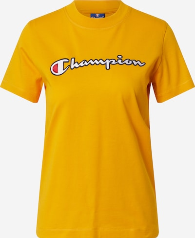 Champion Authentic Athletic Apparel Majica u noćno plava / zlatno žuta / losos / bijela, Pregled proizvoda