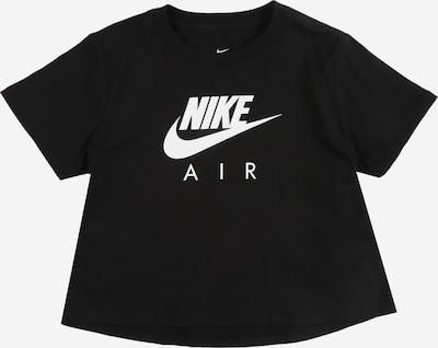 Nike Sportswear Shirt 'G NSW TEE NIKE AIR CROP' in de kleur Zwart, Productweergave