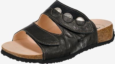 THINK! Pantoletten 'Mizzi' in schwarz, Produktansicht