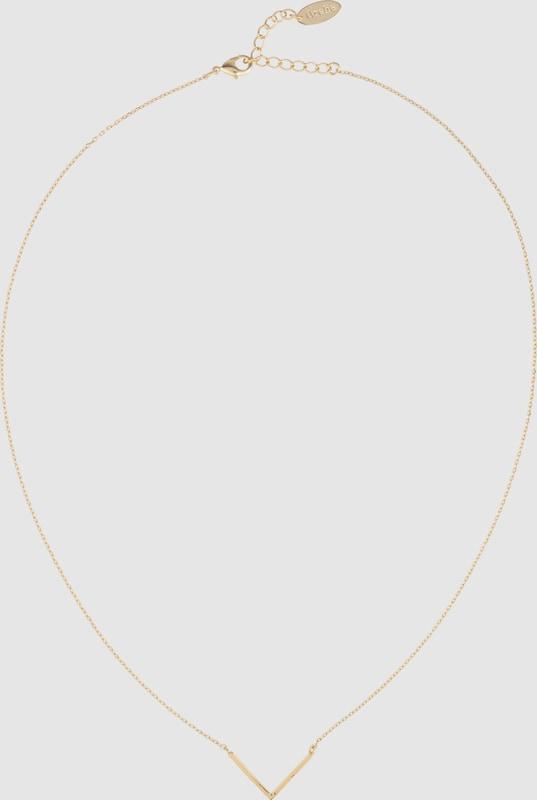 Orelia Halskette 'Clean V'