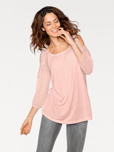 Palaidinė iš heine, spalva – rožinė, Modelio vaizdas