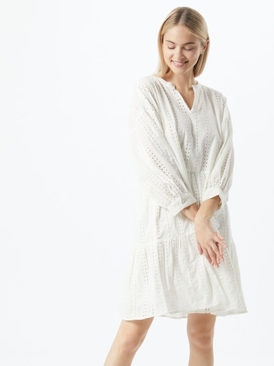 OBJECT Kleid 'Objerin' in weiß, Modelansicht