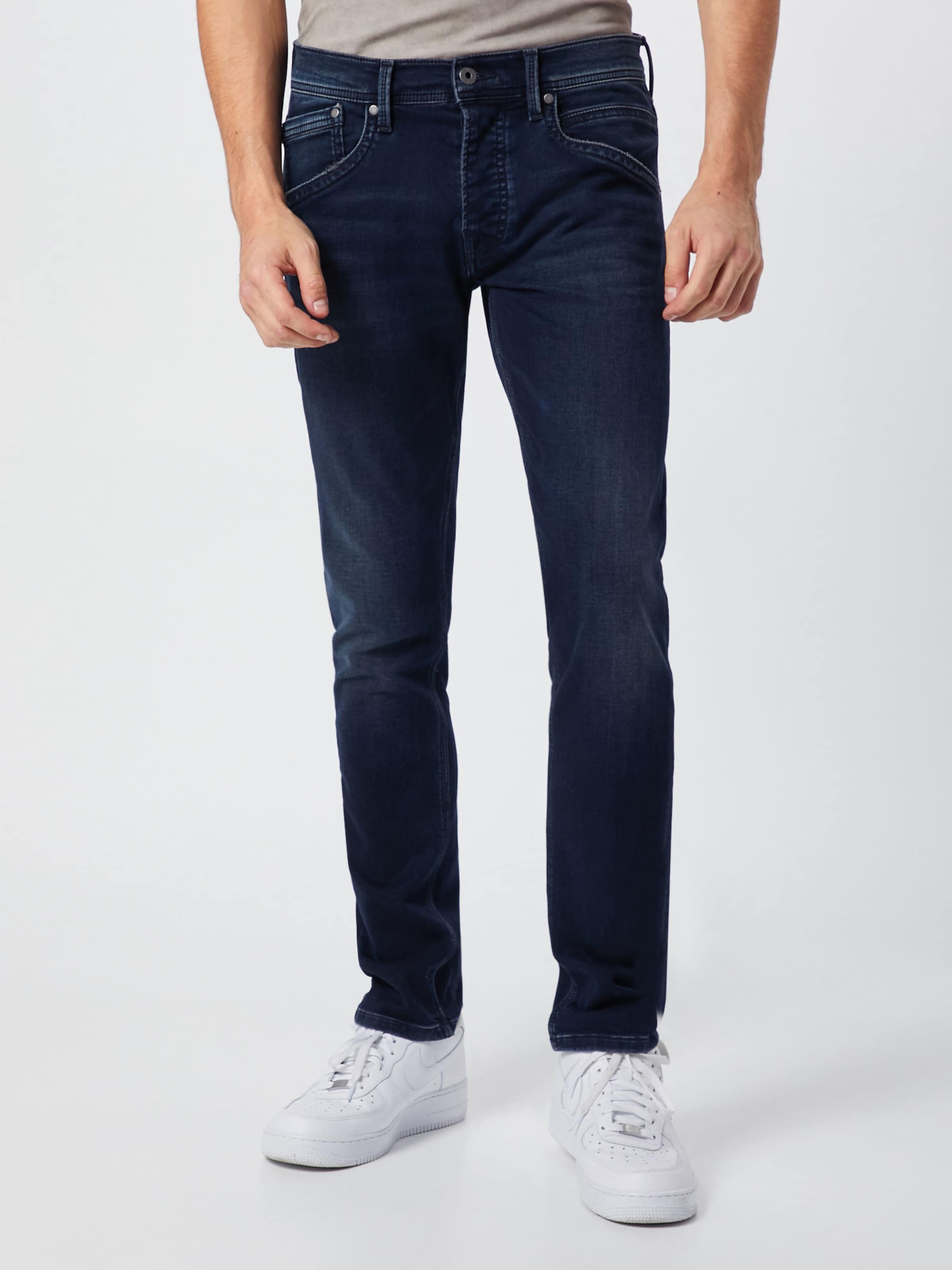 'track' Jeans Denim In DunkelblauBlack Pepe rCdxWeBo