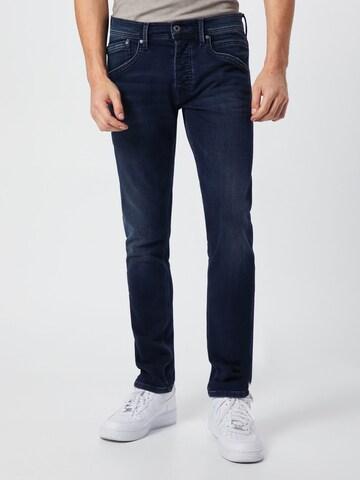 Pepe Jeans Jeans 'Track' in Blau