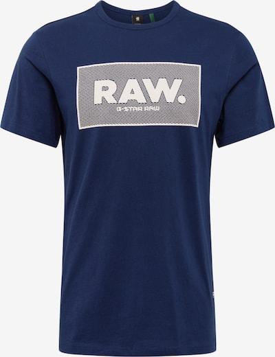 G-Star RAW Shirt 'Boxed' in dunkelblau, Produktansicht