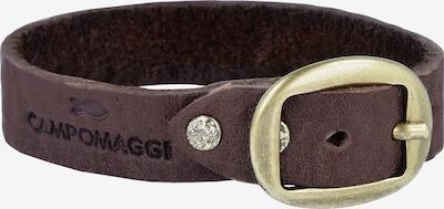 Campomaggi Armband 'Bracciali' in dunkelbraun, Produktansicht