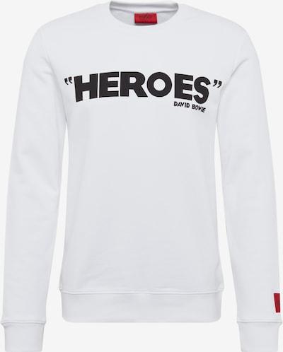 HUGO Sweatshirt 'Deroes' in weiß, Produktansicht