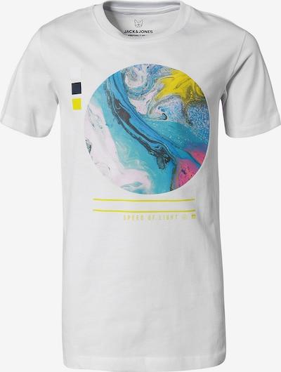Jack & Jones Junior Shirt 'JCOSCAPE' in mischfarben / weiß, Produktansicht