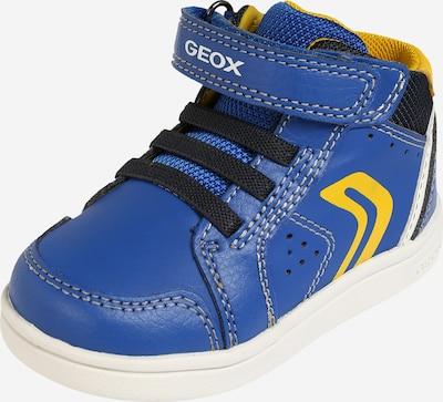 GEOX Sneaker in royalblau / gelb / schwarz, Produktansicht