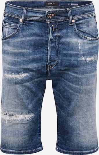 REPLAY Shorts in blue denim, Produktansicht