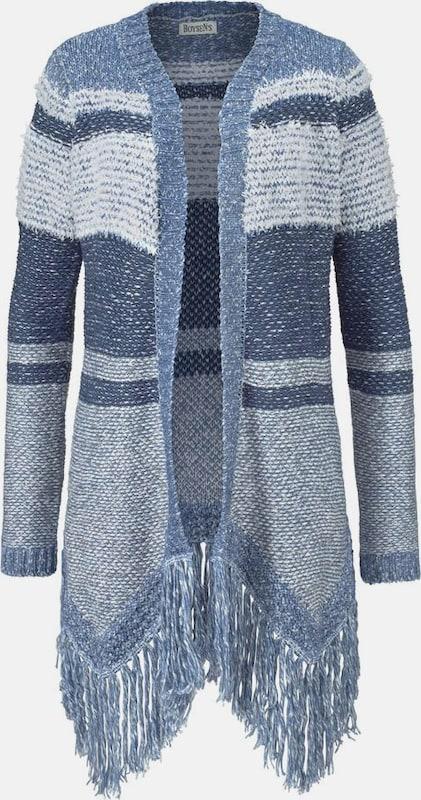 BOYSEN'S Longstrickjacke in blau   hellblau  Neue Kleidung in dieser Saison