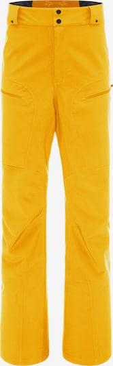 PYUA Pantalon outdoor 'Spur-Y' en jaune, Vue avec produit